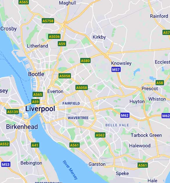 Local Liverpool Area